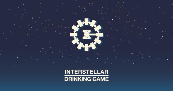 interstellar minimalist drinking game cinesmashed